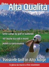 Alta Qualità - Passione Golf in Alto Adige 2010