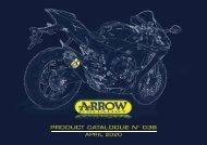 Arrow Product Catalogue n 038 - April 2020