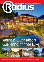 Wellness & Spa Resort Quellenhof 2010
