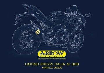 Arrow - listino prezzi Italia n 038 - Aprile 2020