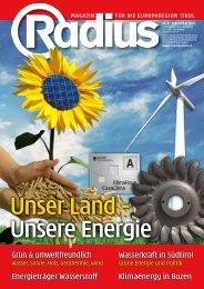 Unser Land - Unsere Energie 2010