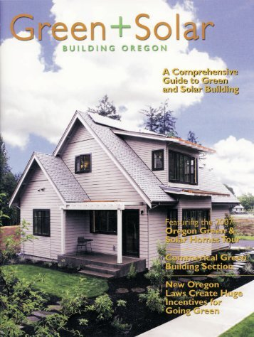 Green + Solar Building Oregon - Pringle Creek Community