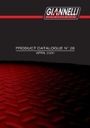 Giannelli - Product Catalogue N° 028 - April 2020