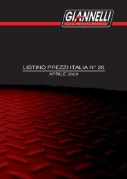 Giannelli - Listino Italia N° 28 - Aprile 2020
