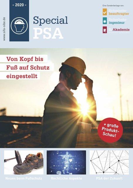 Sicherheitsingenieur Special PSA 2020