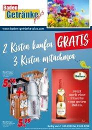Baden Getränke Plus Mai 2020
