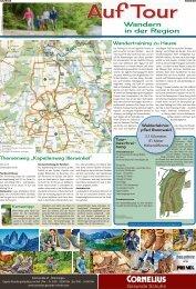Auf Tour – Wandern in der Region