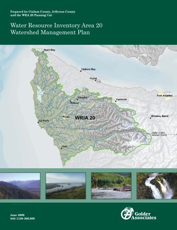 Water Resource Inventory Area 20 Watershed Management Plan