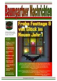 Winter 2007 - Gemeinde Baumgarten