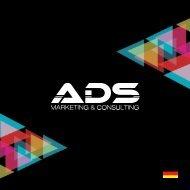 Unternnehmensbrochüre ADS Deutsch