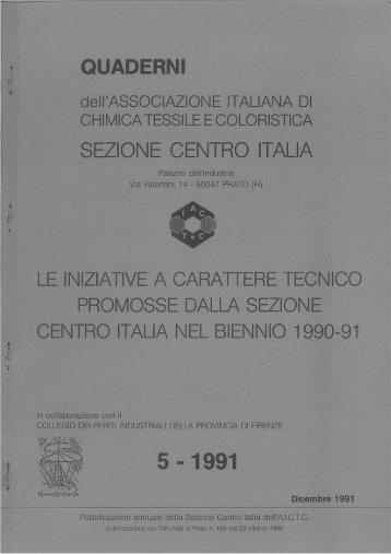 QUADERNI NR. 5 - 1991