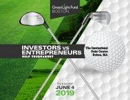 GreenLight Fund BOSTON Golf Tournament Program