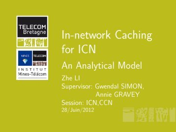 In-network Caching for ICN - An Analytical Model