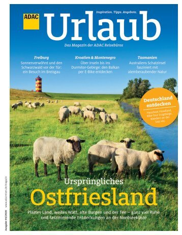 ADAC Urlaub Mai-Ausgabe 2020 Südbayern