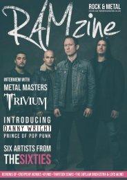 RAMzine 26   Trivium, Danny Wright, Isolation Diaries