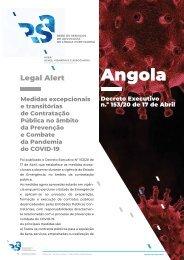 Angola - Legal Alert