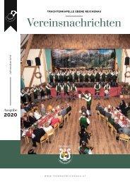 Vereinsnachrichten 2020