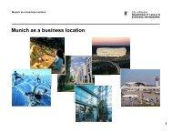 Munich as a business location - Referat für Arbeit und Wirtschaft