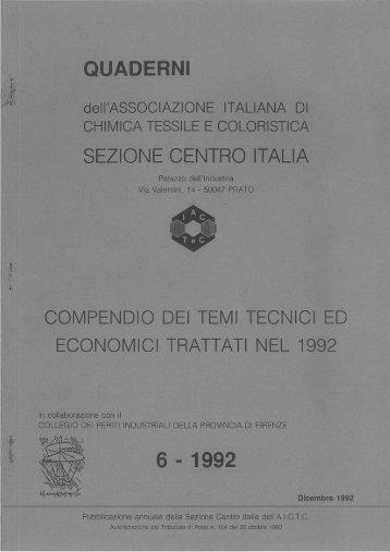QUADERNI NR. 6 - 1992