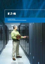 Produkt-Katalog Unterbrechungsfreie Stromversorgungen