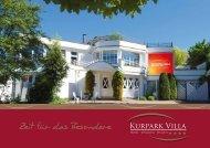 Kurpark Villa - Hotel, Wellness, Health