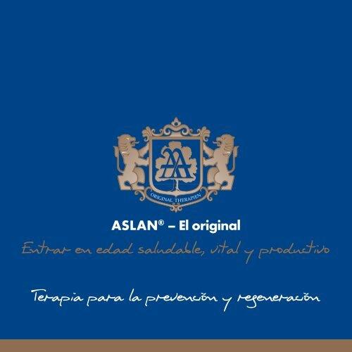 ASLAN - Terapia para la prevención y regeneración