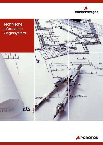 Technische Information Ziegelsystem - ENEV-Online.de