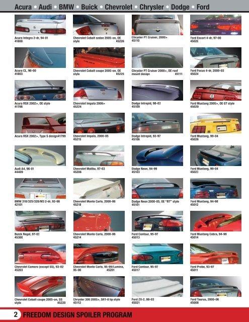 2006 Wing Catalog - Freedom Design