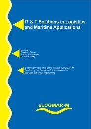 IT & T Solutions in Logistics and Maritime - eLogmar-m.org
