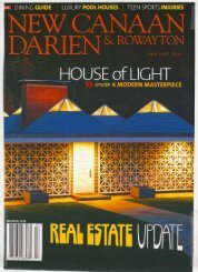 New Canaan Darien Rowayton Magazine April 2008