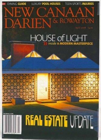 New Canaan Darien Rowayton Magazine April 2008