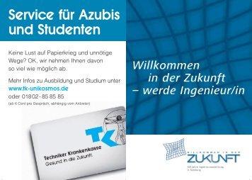 Service für Azubis und Studenten - Department Maschinenbau und ...