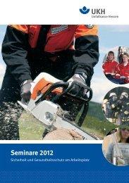 Seminare 2012 - Unfallkasse Hessen