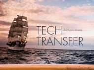 FY 2009 Annual Report - Technology Transfer - Johns Hopkins ...