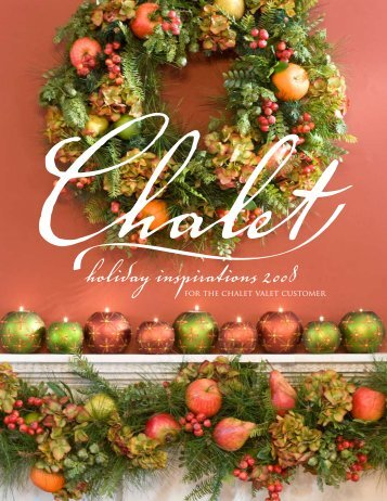 You're invited to Chalet's Holiday events! How Can ... - Chalet Nursery