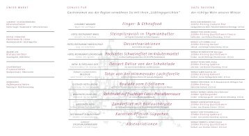 Finger- & Ethnofood Steinpilzravioli in Thymianbutter - Mosel