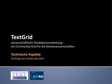 TextGrid - physics - Johannes Dörr