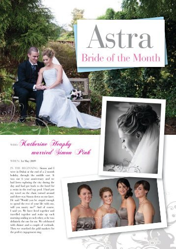 Bride of the Month - Astra Bridal