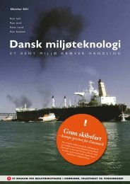 ningsselskaber har ikke pligt til forhin - Dansk Miljøteknologi