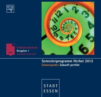 Gesellschaft & Kultur - Volkshochschule Essen