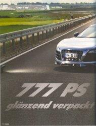 TUNING (2/2012) 777PS glänzend verpackt - MTM