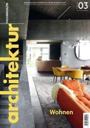 architektur Fachmagazin Ausgabe 3/2020