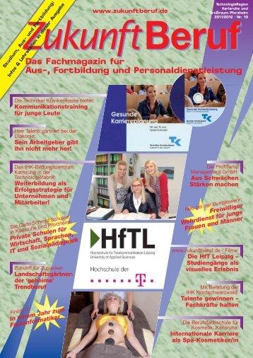 Das Fachmagazin für Aus-, Fortbildung und ... - Zukunft Beruf