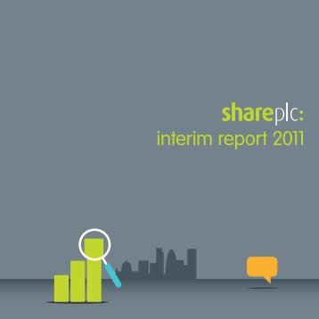 interim report 2011 - Share plc
