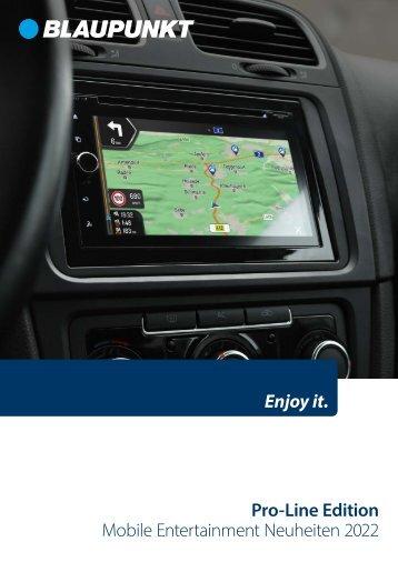 Blaupunkt-Katalog-Mobile-Entertainment Pro-Line-Edition