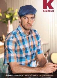Kimmich Mode-Versand | Größenspezialist für Männermode | Frühjahr / Sommer 2020