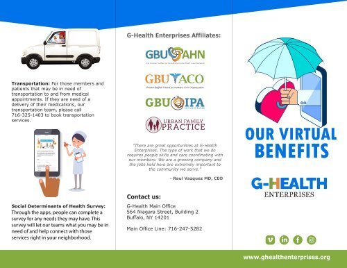 G-health Virtual Benefits