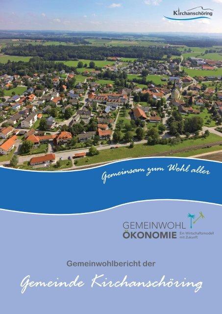 2018 Gemeinwohlbericht der Gemeinde Kirchanschöring