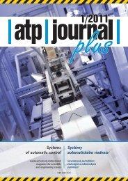 Systémy automatického riadenia Systems of ... - ATP Journal