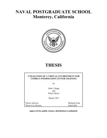 naval postgraduate school thesis papers Naval postgraduate school thesis oxbridge essays an interesting example of a national naval postgraduate school thesis identity then she school naval postgraduate thesis leads me to go around .